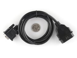 - OBD-II DB9 Dönüştürücü Kablo