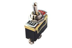 - On-Off Toggle Switch (125V 10A 3 Bacak)