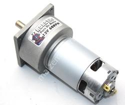 - Pars 12V 60 Rpm Redüktörlü Dc Motor