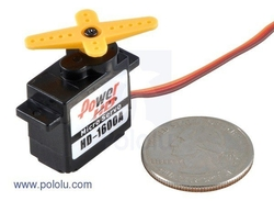 - Power HD Mikro Servo Motor HD-1600A