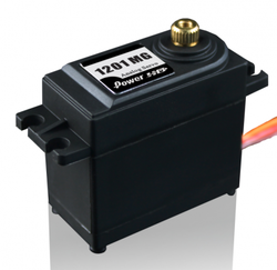 - PowerHD Standart Bakır Dişlili Analog Servo Motor - HD-1201MG