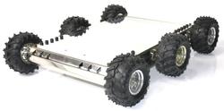 - PUMA 6x6 Gelişmiş Arazi Robotu Montajlı
