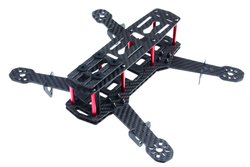 - QAV250 Full Carbon Fiber 250mm Mini FPV Quadcopter Frame Kit Drone Gövdesi ZMR250
