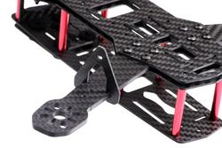 QAV250 Full Carbon Fiber 250mm Mini FPV Quadcopter Frame Kit Drone Gövdesi ZMR250 - Thumbnail