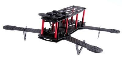 QAV250 Full Carbon Fiber 250mm Mini FPV Quadcopter Frame Kit Drone Gövdesi ZMR250