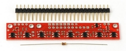 - QTR-8A Kızılötesi Çizgi Sensörü (Analog )
