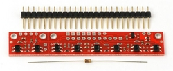- QTR-8RC Çizgi Sensörü (Digital)