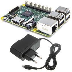 - Raspberry Pi 3 + Raspberry Pi Adaptörü