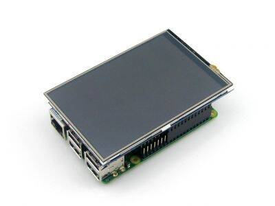 Raspberry Pi Dokunmatik IPS LCD Ekran 4''