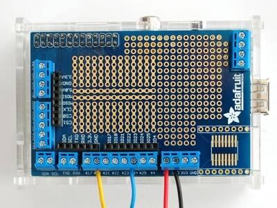 Raspberry Pi için Prototip Kartı