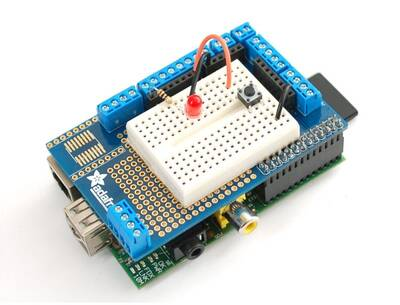 Raspberry Pi Proto Shield | Raspberry Pi Prototype
