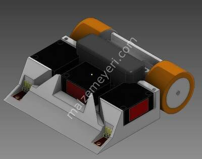 REM CNC Mini Sumo Robot Gövdesi
