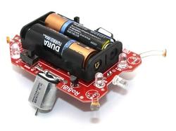 Jsumo - RoBİBİ Işık İzleyen Robot Kiti (Montajlı)