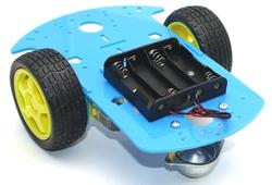 - ROBOMOD 2WD Mobil Robot Kiti - Mavi