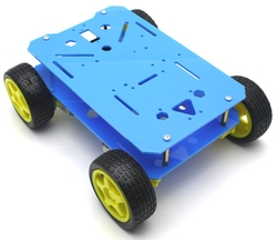 - ROBOMOD 4WD Mobil Arazi Robot Kiti - Mavi