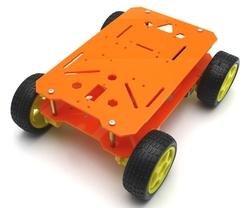 - ROBOMOD 4WD Mobil Arazi Robot Kiti - Turuncu