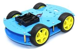 - ROBOMOD 4WD Mobil Robot Kiti - Mavi