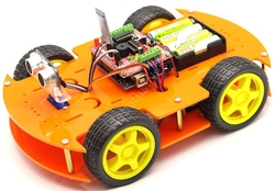 Jsumo - Robomod Bluetooth Kontrollü Arduino Araba - Turuncu (Demonte Montajsız)