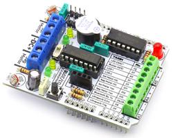 - RoboShield Arduino Robot Shieldi