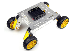 Jsumo - Rover 4x4 Arazi Gövde Seti - Alüminyum Gövde