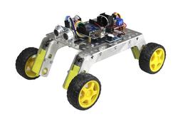 - Rover 4x4 Arazi Robot Kiti - Demonte (Alüminyum Gövdeli)