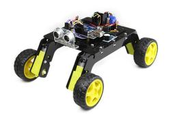 Jsumo - Rover 4x4 Arazi Robot Kiti - Demonte (Pleksi Gövdeli)