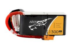 - Tattu 1300mAh 14.8V 75C 4S LiPo Batarya | Lipo Pil