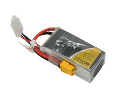 - Tattu 1550mAh 11.1v 45C 3S1P XT60 PLUG LiPo Batarya | Lipo Pil