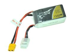 - Tattu 1550mAh 14.8V 75C 4S XT60 Plug LiPo Batarya | Lipo Pil