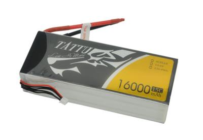 Tattu 16000mAh 14.8V 15C/30C 4S LiPo Batarya | Lipo Pil