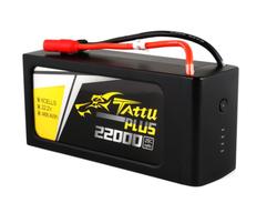 - Tattu 22000mAh PLUS 22.2V 15C 6S1P TX150 LiPo Pil | Lipo Batarya