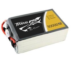 - Tattu 30000 mAh 22.2V 25/50C 6S Lipo Pil