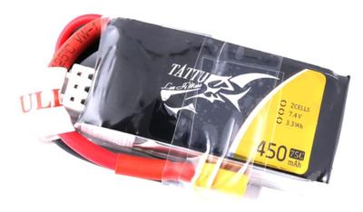 Tattu 450mAh 7.4V 75C 2S1P LiPo Batarya