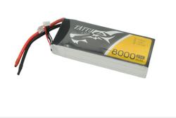 - Tattu 8000mAh 14.8V 25C 4S LiPo Batarya | Lipo Pil