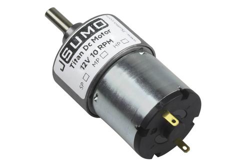 Titan 12V 10 Rpm Redüktörlü Dc Motor