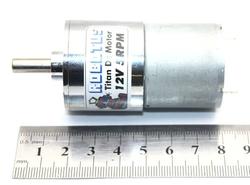 Titan 12V 20 Rpm Redüktörlü Dc Motor - Thumbnail