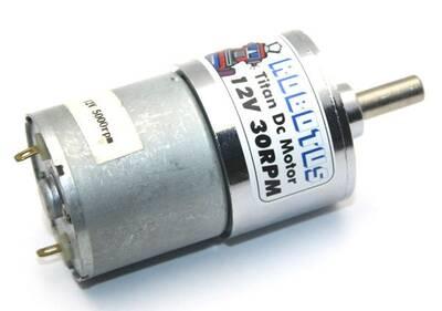 Titan 12V 30 Rpm Redüktörlü Dc Motor