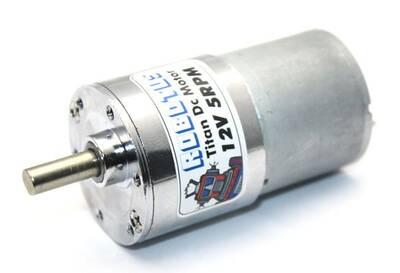 Titan 12V 5 Rpm Redüktörlü Dc Motor