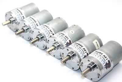 Titan 12V 60 Rpm Redüktörlü Dc Motor