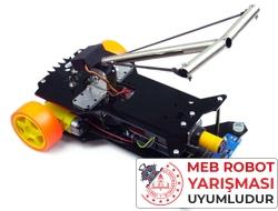 Jsumo - Tozkoparan Robot Kiti - Meb Robot Yarışması Uyumlu (Demonte Montajsız)