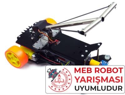 Tozkoparan Robot Kiti - Meb Robot Yarışması Uyumlu (Montajlı)