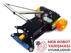 Tozkoparan Robot Kiti - Meb Robot Yarışması Uyumlu (Montajlı) - Thumbnail