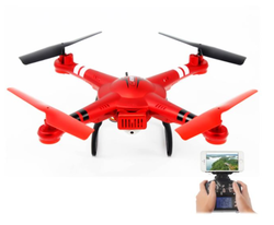 - WL TOYS Q222K Red - WiFi FPV 720P HD Camera Quadcopter Rtf