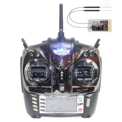 XG14 - 2.4GHz 14-CH Radyo Kontrol Sistem w/RG812BX Alıcı (00763)
