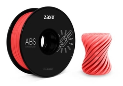 - Zaxe ABS 1.75mm Filament - Kırmızı